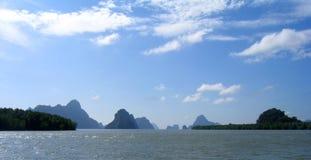 Compartiment de Phang Nga, Thaïlande Photographie stock libre de droits