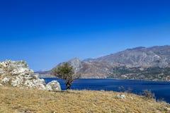 Compartiment de Plakias, Crète Photos libres de droits