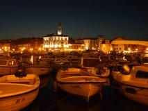 Compartiment de Rovinj Photographie stock libre de droits