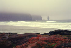 Compartiment de Sandwood, Sutherland, Ecosse Photo stock