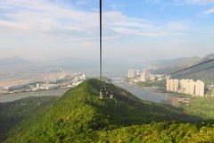 Compartiment de Tung Chung de Hong Kong images libres de droits