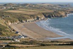 Compartiment de Whitesands, Pembrokeshire Photo stock