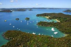 Compartiment des îles, Nouvelle Zélande Photographie stock libre de droits