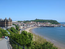 Compartiment du sud R-U de Scarborough Photographie stock