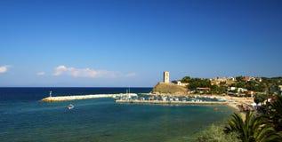 Compartiment en Grèce Photos stock
