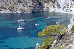 Compartiment méditerranéen/Majorca image libre de droits