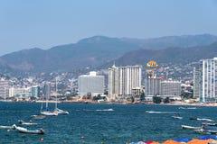 Compartiment Mexique d'Acapulco photos stock