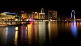 Compartiment Singapour de marina Photo stock