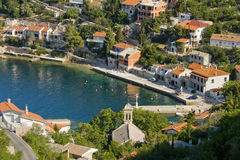 Compartiment Starigrad par Senj Image libre de droits