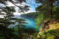 Compartiment Telâkovskogo Photographie stock