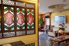 Compartiment van guangzhourestaurant Royalty-vrije Stock Foto's