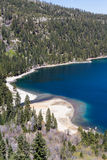 Compartiment vert, Lake Tahoe Photo stock