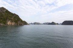 Compartiment Vietnam de Halong photos stock