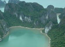 Compartiment Vietnam de Halong photo libre de droits