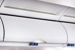 Compartimento aéreo foto de stock royalty free