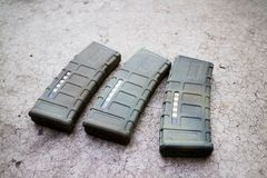 Compartimento da arma de Airsoft Imagem de Stock Royalty Free
