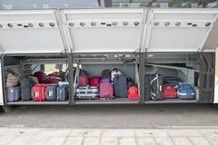 Compartimento de bagagem fotografia de stock royalty free