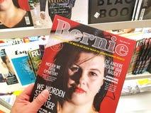 Compartimento de Bernie em uma mão fotografia de stock