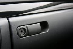 Compartimento de luva do veículo fotos de stock