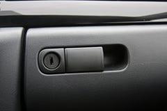 Compartimento de luva do veículo foto de stock