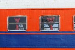 Compartimento do trem fotografia de stock royalty free