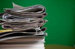 Compartimento e jornal foto de stock royalty free