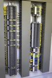 Compartimento elétrico industrial fotografia de stock royalty free