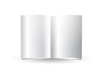 Compartimento em branco lustroso Fotos de Stock