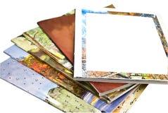 Compartimentos coloridos Imagem de Stock