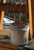 Compartimiento bien de madera Foto de archivo