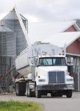 Compartimiento de abastecimiento del grano Imagen de archivo
