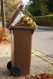 Compartimiento de basura Foto de archivo libre de regalías