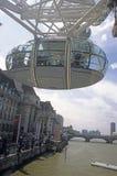 Compartimiento de pasajero del ojo de Londres Fotos de archivo libres de regalías