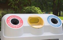 Compartimiento de reciclaje Foto de archivo