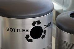 Compartimiento de reciclaje grande Imágenes de archivo libres de regalías