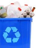 Compartimiento de recyclables Fotos de archivo