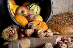 Compartimiento del otoño Foto de archivo libre de regalías