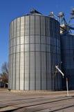 Compartimiento del silo del elevador de grano de Cercano oeste Imagen de archivo libre de regalías