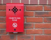 Compartimiento del tope de cigarrillo Imágenes de archivo libres de regalías