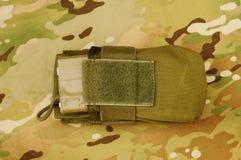 Compartimiento militar del rifle Foto de archivo libre de regalías