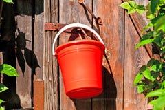Compartimiento rojo Imagen de archivo libre de regalías