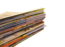 Compartimientos Imagen de archivo libre de regalías