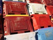 Compartimientos de almacenaje Imágenes de archivo libres de regalías