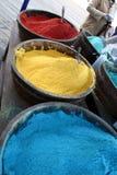 Compartimientos de color Fotografía de archivo libre de regalías