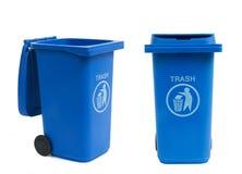Compartimientos de los desperdicios Imagen de archivo libre de regalías