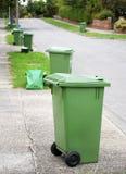 Compartimientos de reciclaje Fotografía de archivo