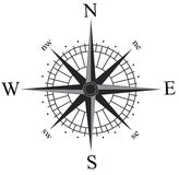 Compas上升了 免版税库存图片