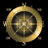 compas золотистые Стоковая Фотография RF