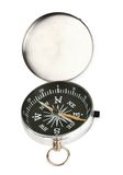 compas крома раскрывают Стоковое фото RF