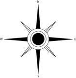 Compas подняло Стоковая Фотография RF